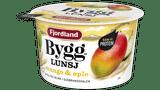 Byggrynlunsj med mango og eple