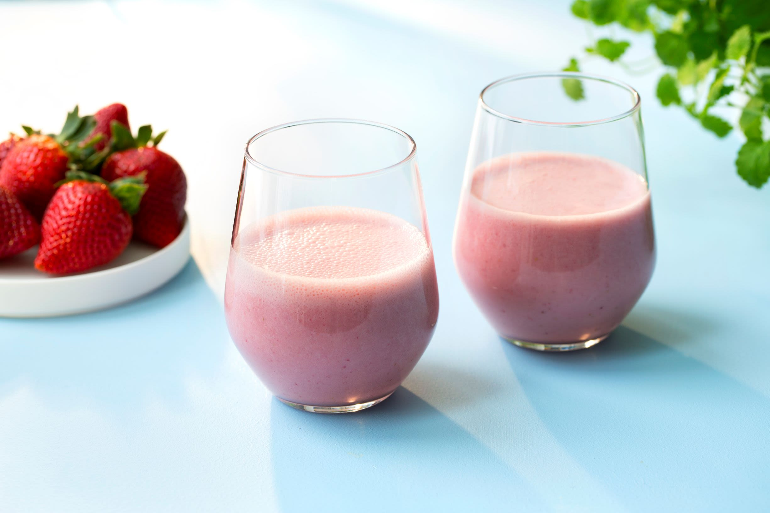 Jordbærsmoothie med Gryr® Havredrikk