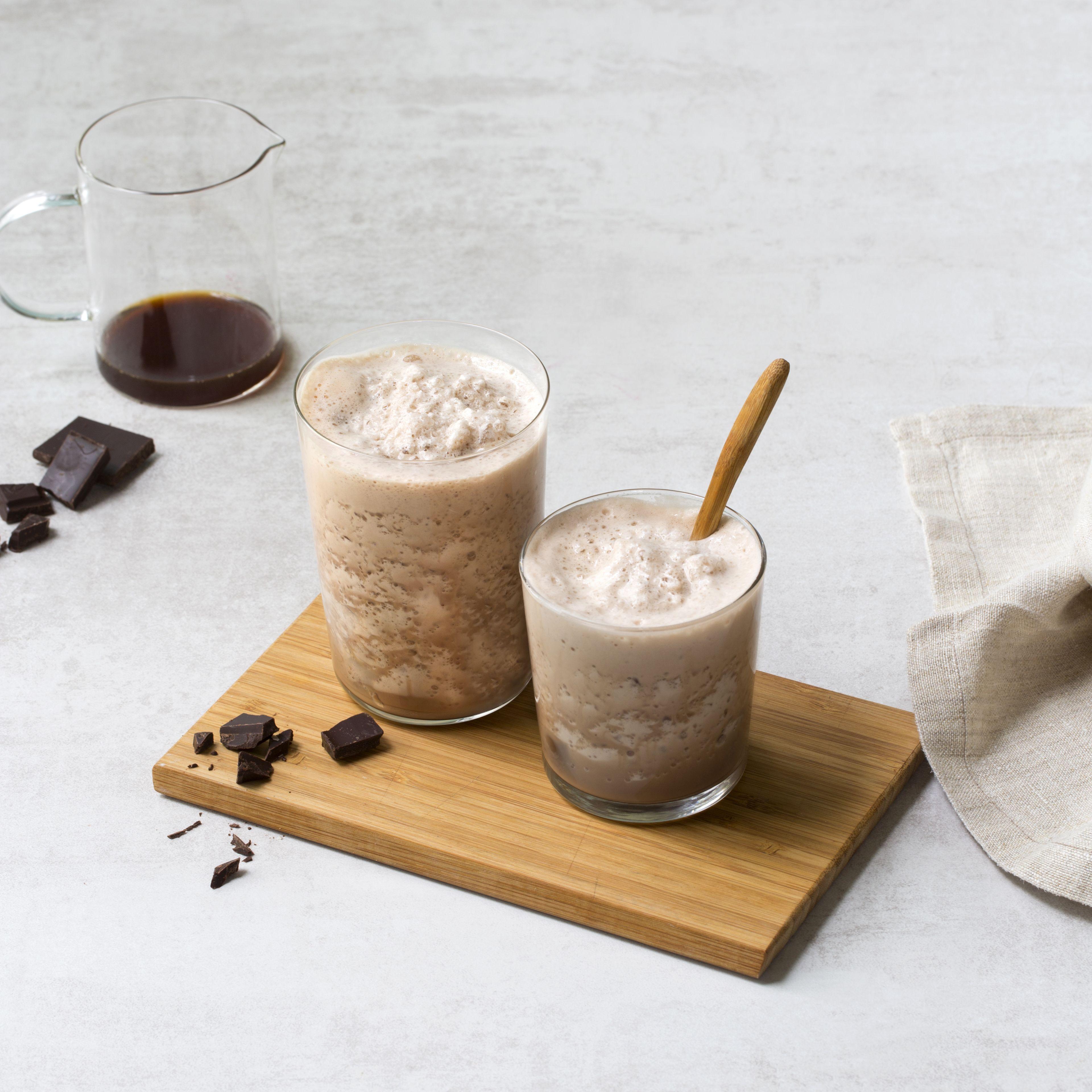 Frappuccino med Styrk® fettfri melk kakao