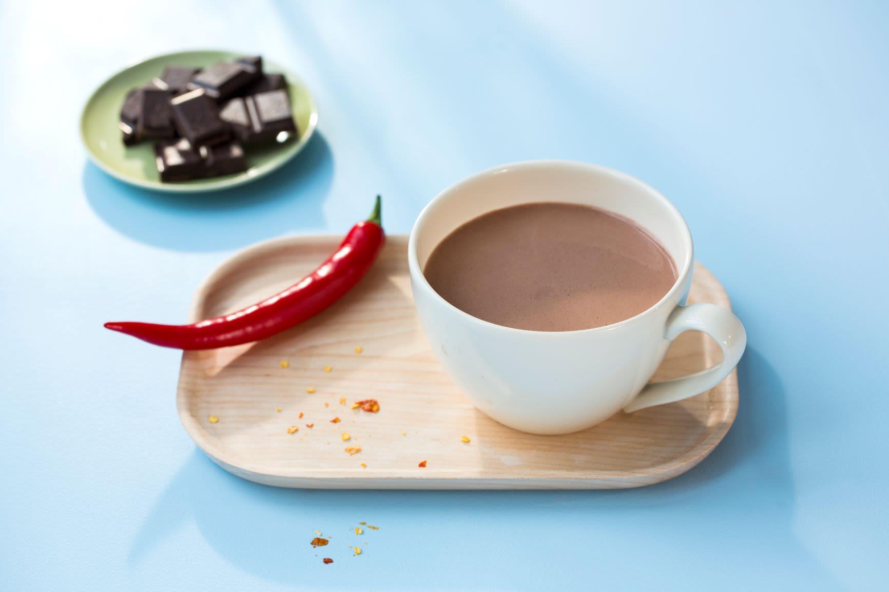 Spicy, melkefri kakao