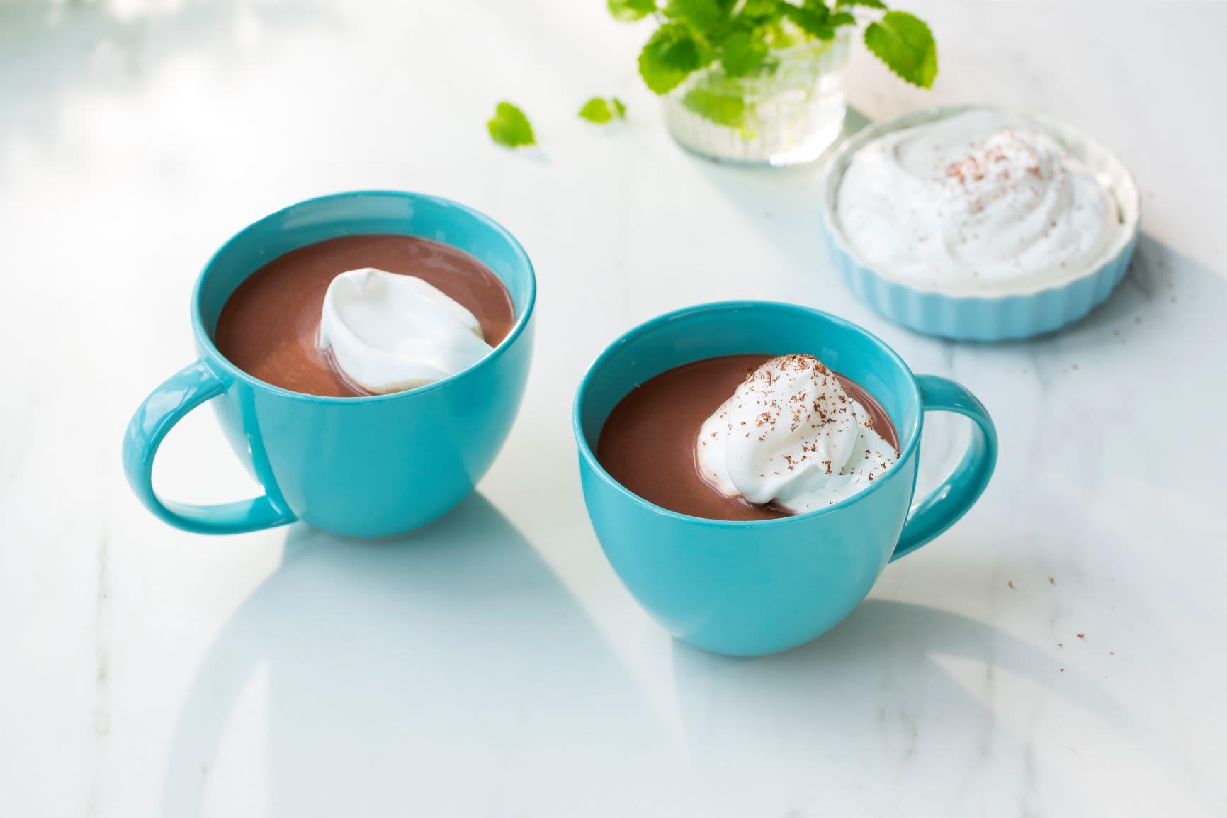 Kakao med krem, helt uten melk