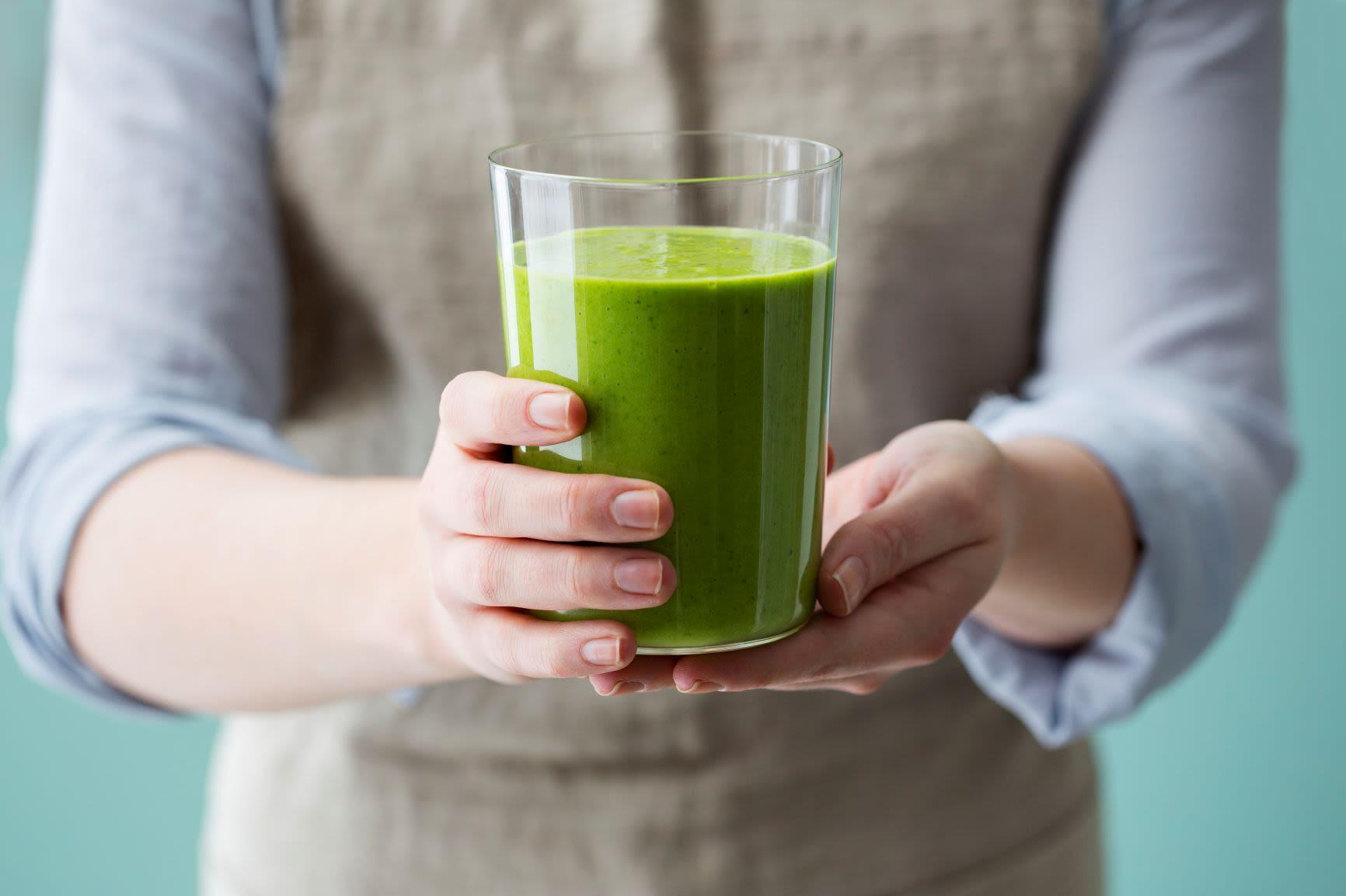Grønn smoothie med spinat og Gryr® Havredrikk