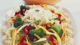 Grønnsakssymfoni med ost