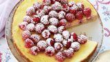 Ostekake med bær