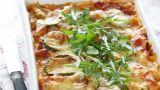 Lasagne med kylling og squash