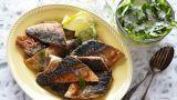 Stekt makrell med sommersalat