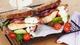 BLT-sandwich med kylling og avokado
