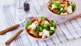 Salat med kylling og fetaost