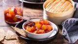 Plomme- og aprikosmarmelade
