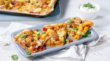Pizza med tandoorikylling