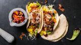 Frokost-taco med egg og bacon