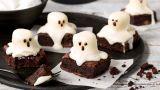 Spøkelsesbrownies med Japp-sjokolade