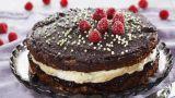 Sjokoladekake med lakriskrem