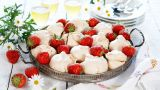 Jordbærmarengs