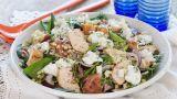 Salat med kylling og bulgur