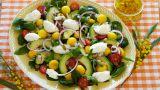 Salat med mango, avokado og Snøfrisk