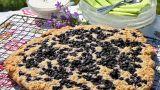 Sconeskake med blåbær