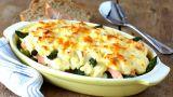 Laksegrateng med asparges