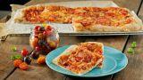 Familiepizza med ost og skinke