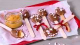 Peanøtt- og sjokoladeskjeer