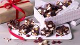 Rocky road med mørk sjokolade