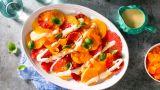 Sitrussalat med hurtigsyltet gulrot