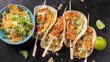 Fiske-taco med kveite og ostechips