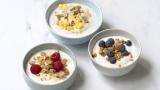 Yoghurt med topping
