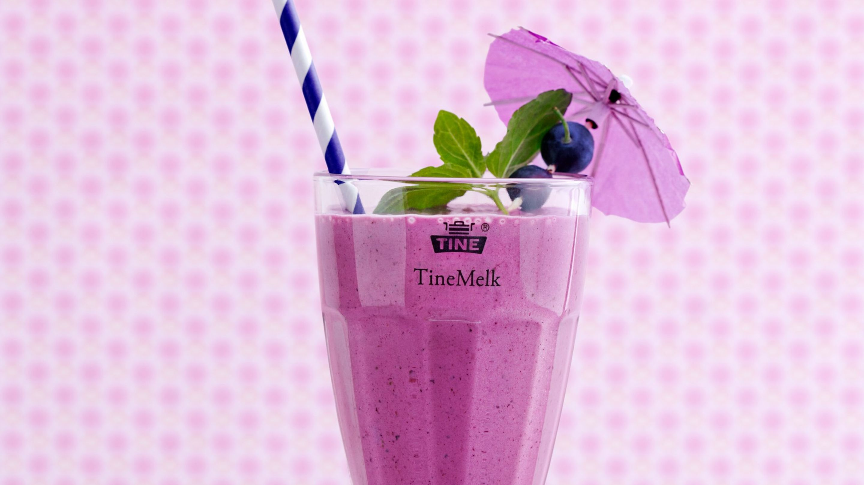 Skogsbær milkshake