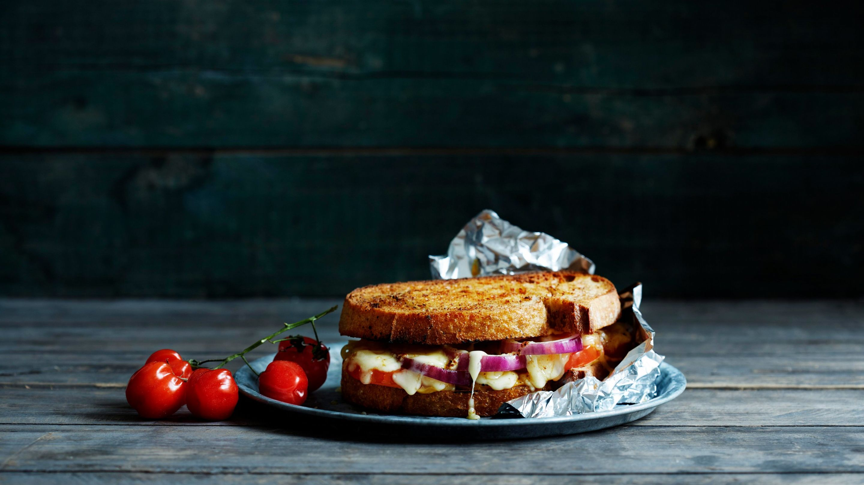 Piknik-sandwich Smelt grill smørbrød