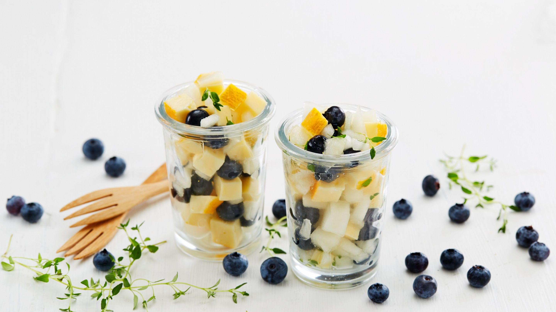 Fruktsalat med Ridderost