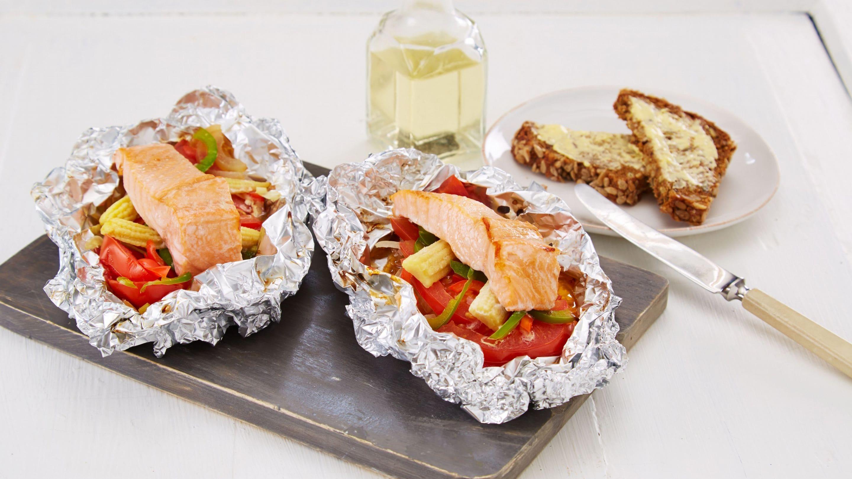 fisk folie grill