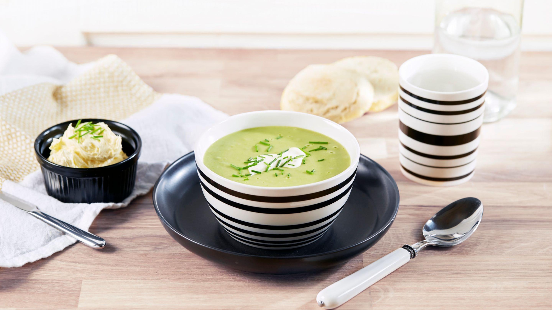 Vårgrønn suppe