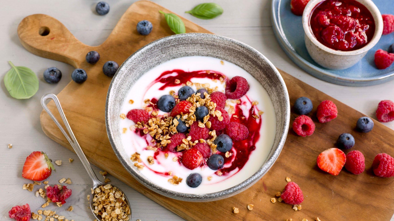 Frokost bowl med yoghurt