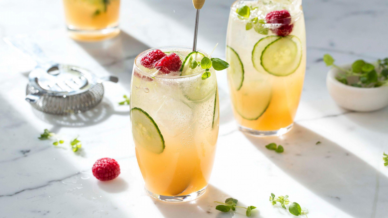 Juice & tonic med agurk