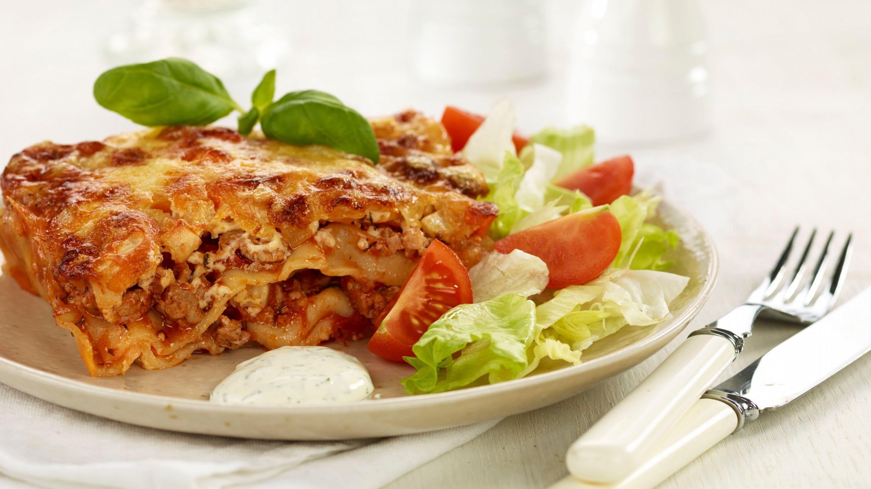 Svinegod lasagne