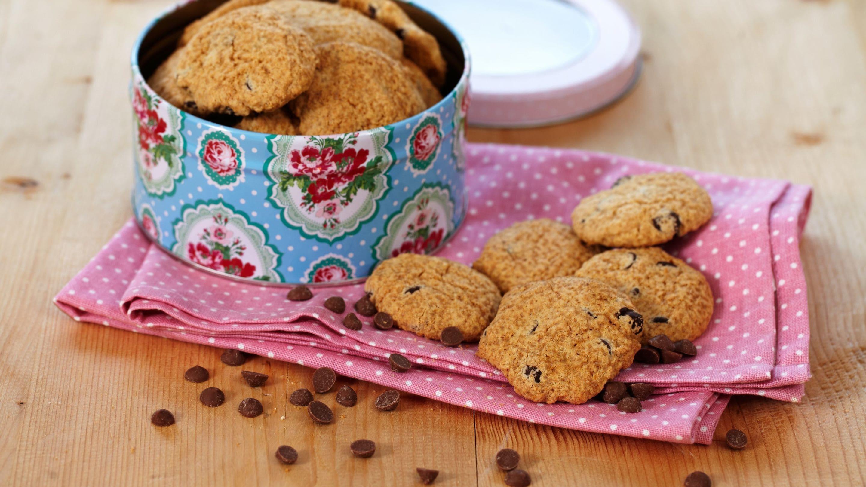 Glutenfrie sjokolade-cookies
