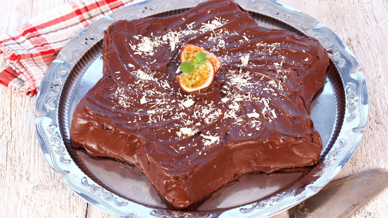 Sjokoladekake med gløgglasur
