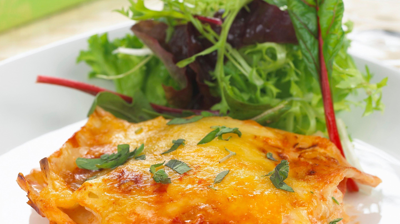 Lasagne med torsk og Jarlsberg