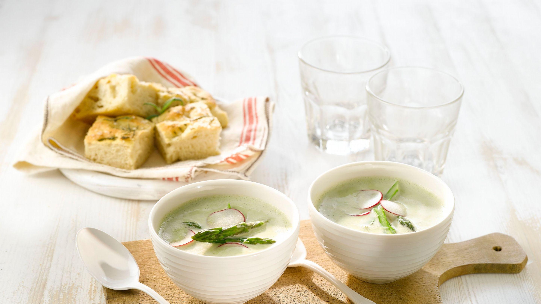 Grønn aspargessuppe