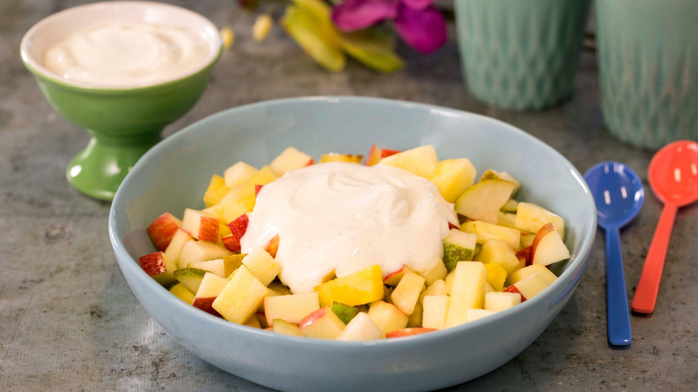 Fruktsalat med Kesam® Vanilje Mager