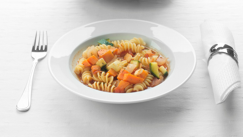 Bønne og pastasuppe