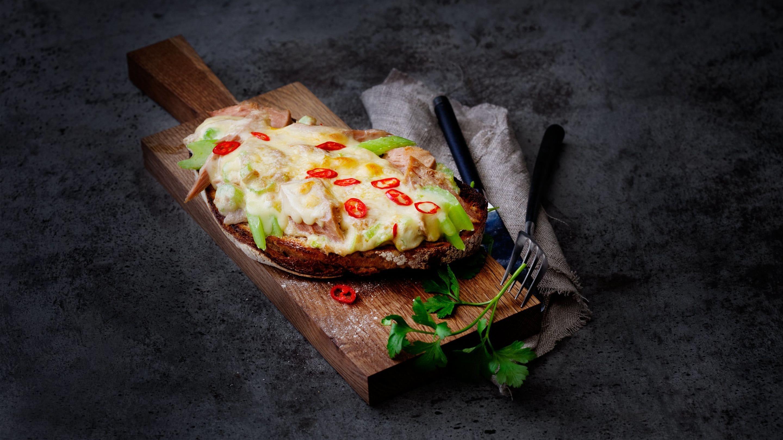 Tuna Melt ostesmørbrød