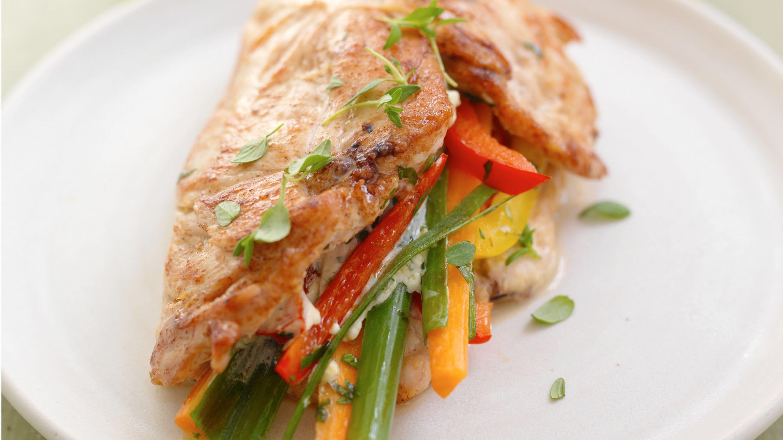 Kylling med grønnsaker og Snøfrisk