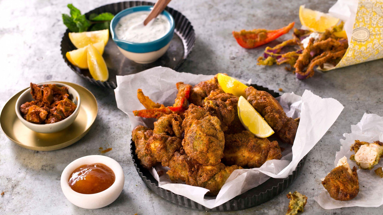 Kylling pakora