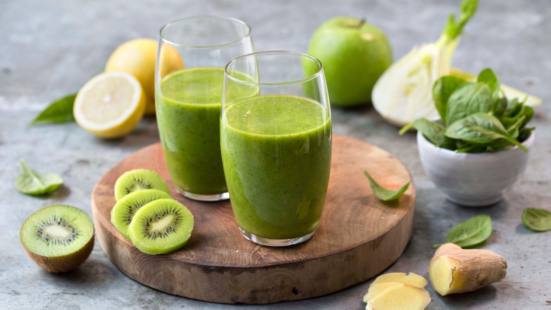 Supri smoothie med eple, fennikel og kiwi
