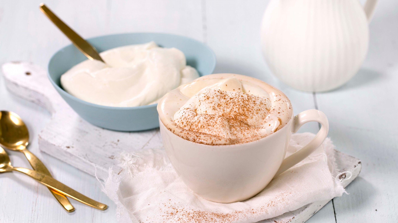 Cappuccino med krem