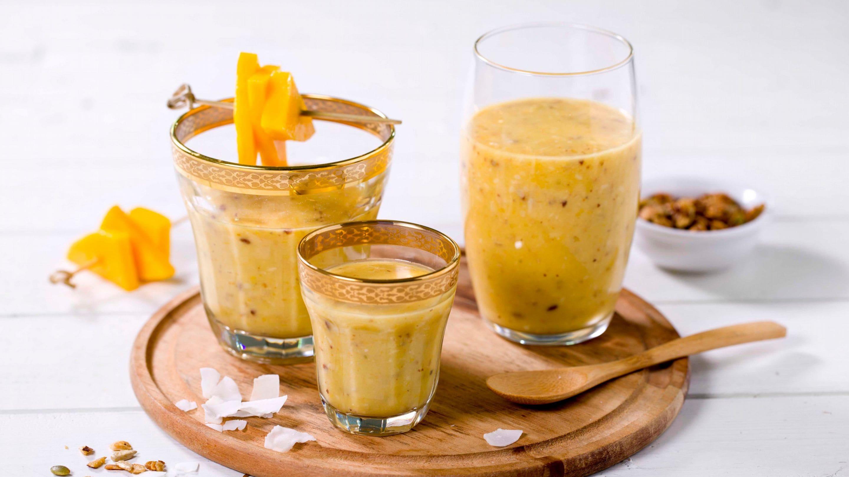 Tropisk smoothie med mango