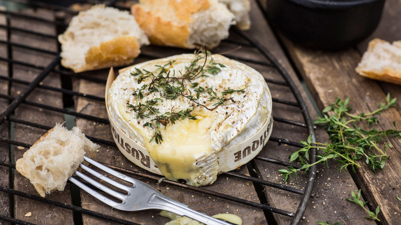 Grillet camembert