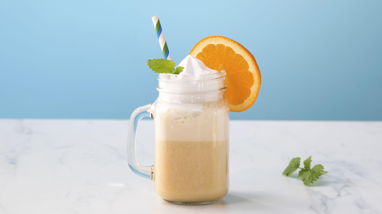 Laktosefri milkshake med banan